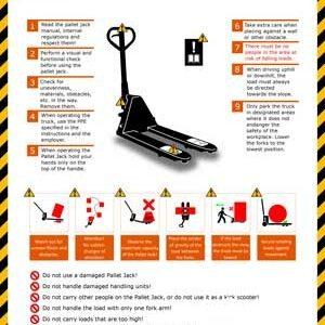 Safety Instructions - Pallet Jack
