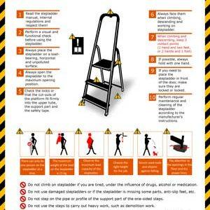 Safety Instructions - Stepladder